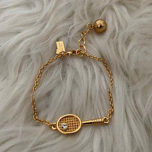 Kate Spade Match Point Tennis Racquet Bracelet